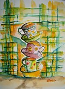 Elaine Duras - Teacup Tower