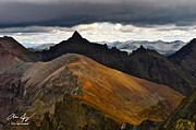 Juans Photos - Teakettle Mountain by Aaron Spong