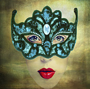 Maureen Tillman - Teal Mask