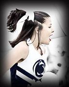 Penn State University Framed Prints - Team Spirit Framed Print by Gallery Three