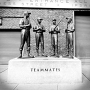 Baseball History Framed Prints - Teammates Framed Print by Greg Fortier