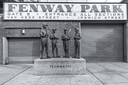 Fenway Photos - Teammates II by Clarence Holmes