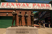 Fenway Park Framed Prints - Teammates Framed Print by Paul Mangold