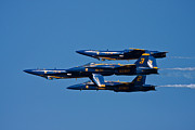 Jets Photo Metal Prints - Teamwork Metal Print by Adam Romanowicz