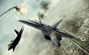 Dogfight Digital Art - Teamwork by Peter Chilelli