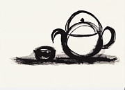 Art Product Painting Prints - Teapot 1 Print by Len YewHeng