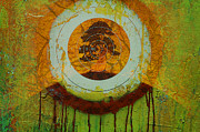 Rainforest Abstract Prints - Tears for the last tree Print by Jeff Burgess