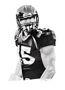 Tebow Prints - TeboW Print by Don Medina