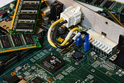 Electronic Photos - Technology - The Motherboard by Paul Ward