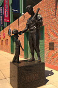 Redsox Photos - Ted Williams by Paul Mangold