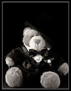 Groom Posters - Teddy Bear Groom Poster by Edward Fielding