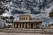 Judaica Metal Prints - Tel Aviv First Railway Station Metal Print by Ron Shoshani