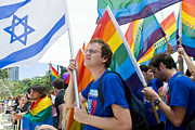 Tel Aviv Gay Pride Print by Kobby Dagan