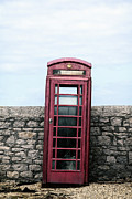 Calling Framed Prints - Telephone Box Framed Print by Joana Kruse