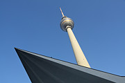 Berlin Art - Television Tower Berlin by Julie Woodhouse