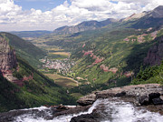 Robert Lozen Metal Prints - Telluride Valley Metal Print by Robert Lozen