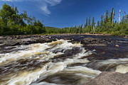 Temperance River Framed Prints - Temperance River 3 Framed Print by John Brueske