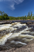Temperance River Framed Prints - Temperance River 4 Framed Print by John Brueske