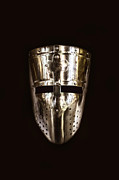 Helmet Photo Metal Prints - Templar Metal Print by Margie Hurwich