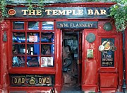 Pub Mixed Media - Temple Bar Dublin Ireland by Bob Newland