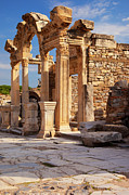 Selcuk Framed Prints - Temple in Ephesus Framed Print by Brian Jannsen