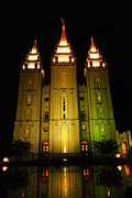 Later Photos - Temple In Salt Lake City by Jeff  Swan