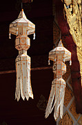 Wind Chimes Photos - Temple Life by Sylvia Ochsmann