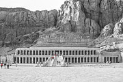 Queen Photo Acrylic Prints - Temple of Hatshepsut Acrylic Print by Erik Brede