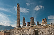 Pompeii Photos - Temple of Jupiter by Marion Galt