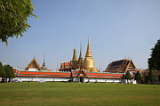 Emerald Prints - Temple of the Emerald Buddha - Grand Palace in Bangkok Thailand - 01131 Print by DC Photographer