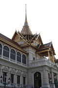 Temple Prints - Temple of the Emerald Buddha - Grand Palace in Bangkok Thailand - 011313 Print by DC Photographer