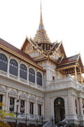 Emerald Prints - Temple of the Emerald Buddha - Grand Palace in Bangkok Thailand - 011314 Print by DC Photographer