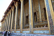 Buddha Photo Posters - Temple of the Emerald Buddha - Grand Palace in Bangkok Thailand - 01133 Poster by DC Photographer