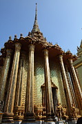 Buddha Photo Posters - Temple of the Emerald Buddha - Grand Palace in Bangkok Thailand - 01138 Poster by DC Photographer