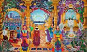 Templo Sacrosanto Print by Pablo Amaringo