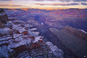 Below Framed Prints - Ten Below Framed Print by Peter Coskun