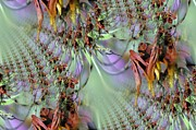 Pistils Framed Prints - Ten Thousand Hummingbirds Framed Print by Jeff  Swan