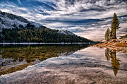 Lake Art - Tenaya Lake Reflctions by Cat Connor