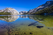 California Landscape Posters - Tenaya Lake Yosemite National Park Poster by Scott McGuire