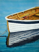 Oars Paintings - Tender One by Stephen Abbott