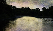 Judy Hall-folde Art - Tender Sundown by Judy Hall-Folde