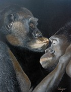 Primates Originals - Tenderness by Jean Yves Crispo