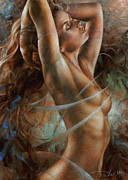 Nudes Paintings - Tenera by Arthur Braginsky