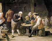 Drinkers Posters - Teniers Ii, David, The Younger Poster by Everett