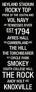 Cumberland Posters - Tennessee College Town Wall Art Poster by Replay Photos