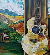 Tennessee Hills Print by Kathy Fitzgerald