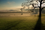 Misty Hills Farm Photos - Tennessee Landscape by Melinda Fawver