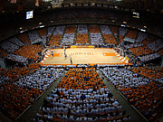 Tennessee Photos Prints - Tennessee Volunteers Thompson-Boling Arena Print by Replay Photos