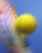 Science Photo Library - Tennis ball and racquet