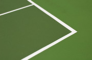 Hard Court Prints - Tennis court Print by Luis Santos